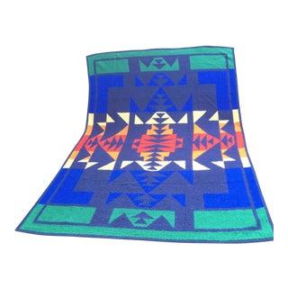 1960s Vintage Biederlack Southwestern Style Blanket For Sale