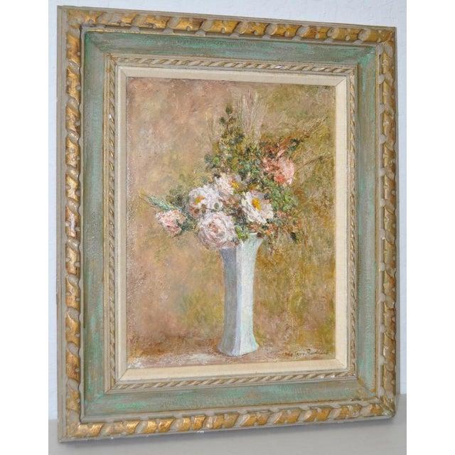 Troy Ruddick Vintage Floral Still Life Painting, C.1965 - Image 2 of 7