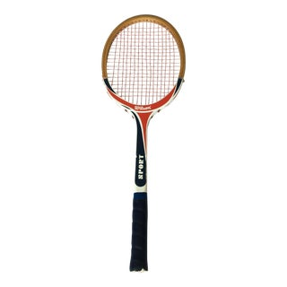 1960s Wilson Sport Wooden Tennis Racquet For Sale