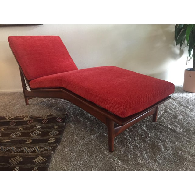 1960s Danish Modern Selig Adjustable Lounge Chair For Sale - Image 12 of 13