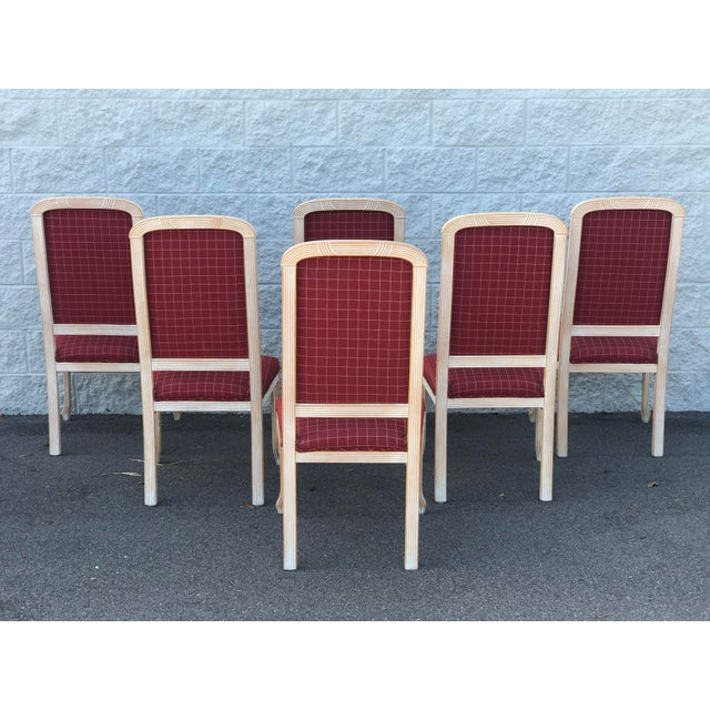 American Classical Comidi & Modonutti Dining Chairs - Set of 6 For Sale - Image 3 of 8