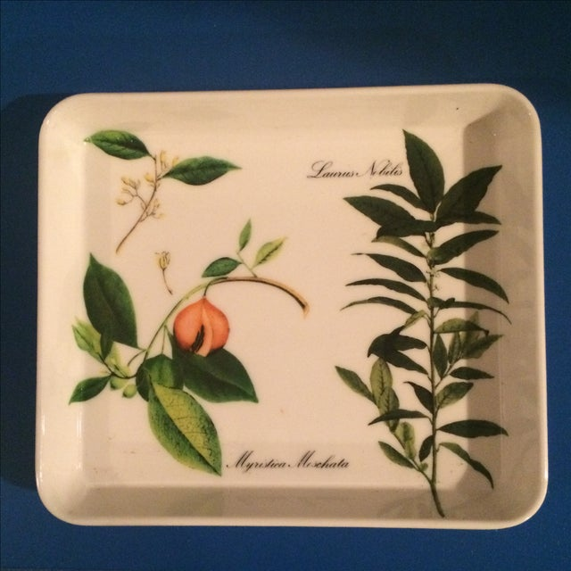 Mid Century Preppy Melamine Tray and Dish Set For Sale - Image 5 of 8