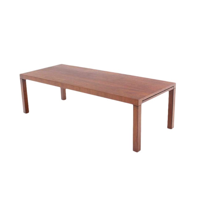 Brown Directional Mid-Century Modern Expandable Walnut Coffee Table For Sale - Image 8 of 8