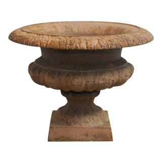 French Cast Iron Garden Urn