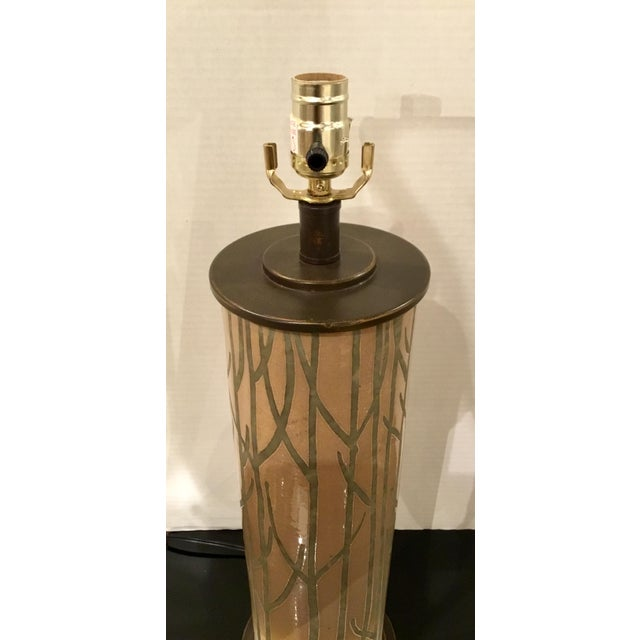 Currey & Company Currey & Co. Modern Nature Inspired Kellerwald Table Lamp For Sale - Image 4 of 6