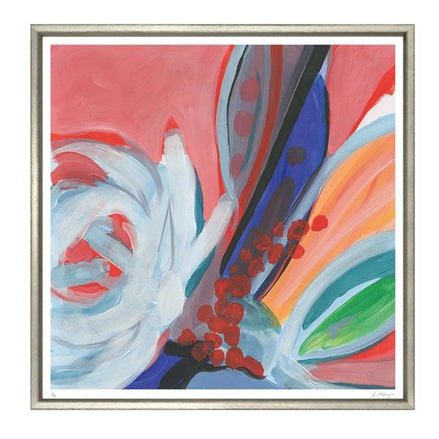 "Modern Trowbridge ""Bouquet of Colour"" Prints - Set of 4 For Sale - Image 3 of 9"