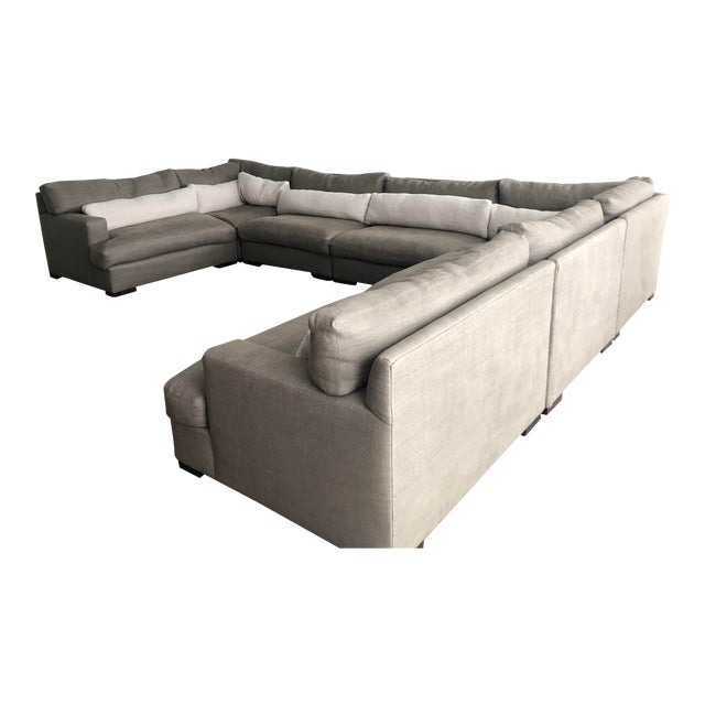 Pleasing Modern Lee Industries 9 Piece Sectional Sofa Ibusinesslaw Wood Chair Design Ideas Ibusinesslaworg