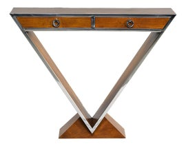 Image of Brown Console Tables
