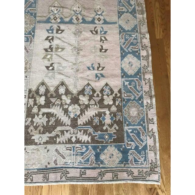 "Islamic Bellwether Rugs Vintage ""Saira"" Turkish Oushak Rug - 3'9""x6'3"" For Sale - Image 3 of 6"