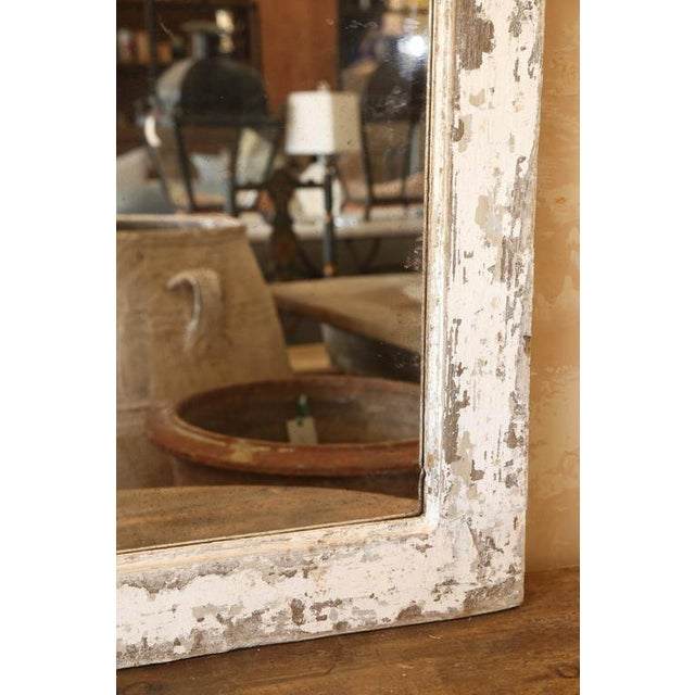 Painted Trumeau Mirror For Sale In Houston - Image 6 of 7
