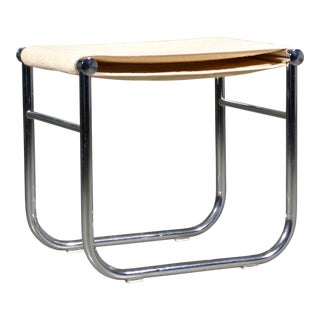 1990s Vintage Le Corbusier Lc9 Stool for Cassina For Sale