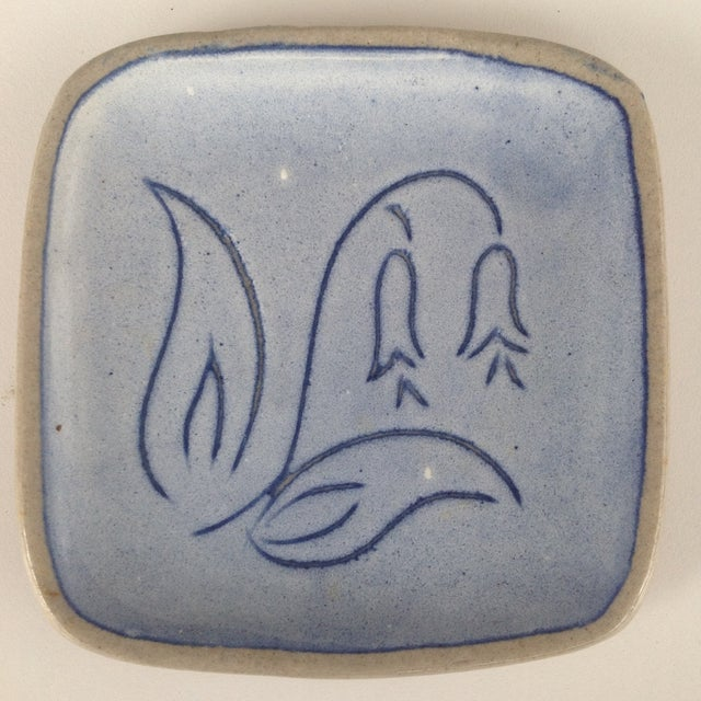 Blue Glidden Pottery Pin Trays, 1961 - Image 4 of 7