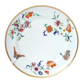 Mottahedeh Chinoiserie Pattern Porcelain Dinner Plate For Sale