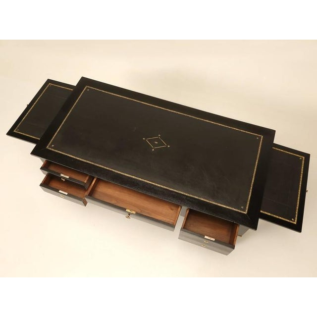 French Empire Style Ebonized Desk For Sale - Image 10 of 11