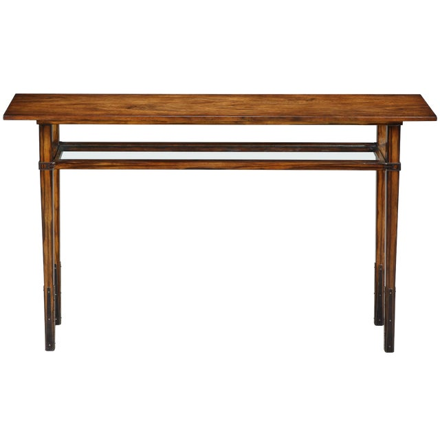 Modern Sarreid Ltd Taper Console Table For Sale