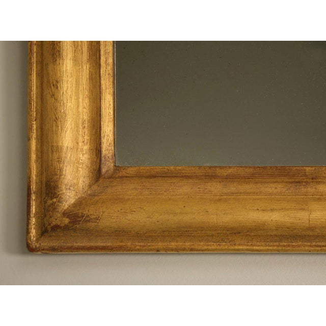 Glass French Louis Philippe Gilt Mirror, Circa 1850 For Sale - Image 7 of 12