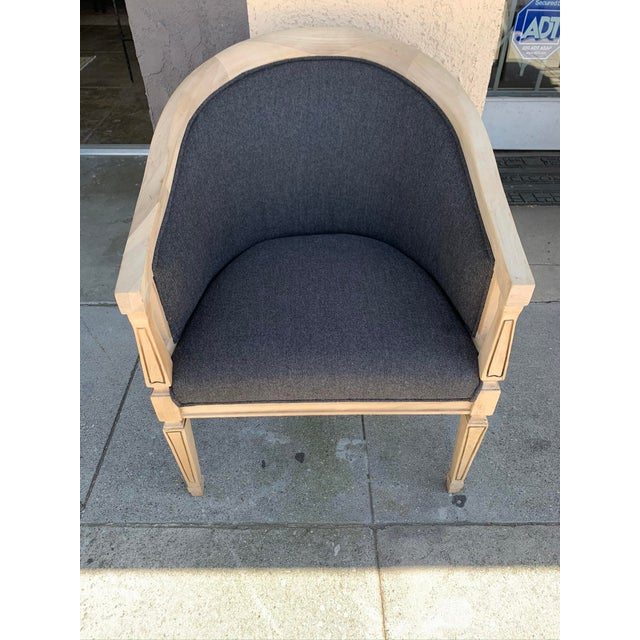 1960s Vintage Oak Arm Chair For Sale - Image 5 of 5