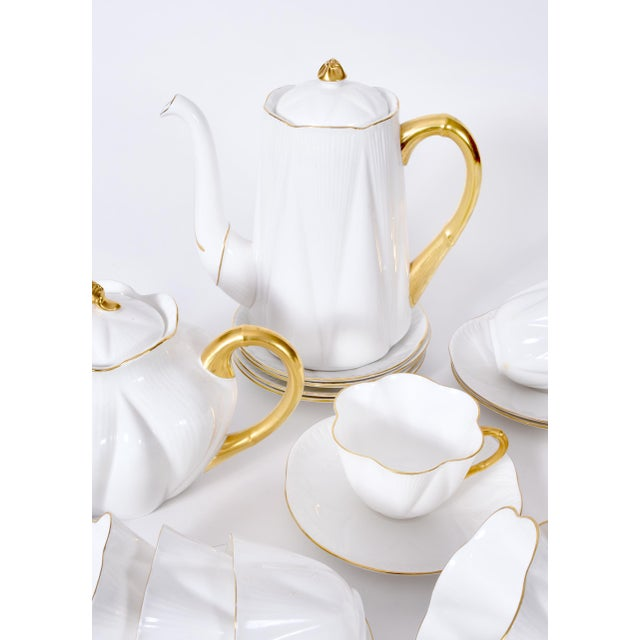 Vintage English Porcelain Tea / Coffee Service Service for 12 People - 36 Pc. Set For Sale - Image 9 of 13