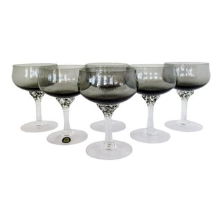 Sasaki Champagne Coupes, Set of 6 For Sale