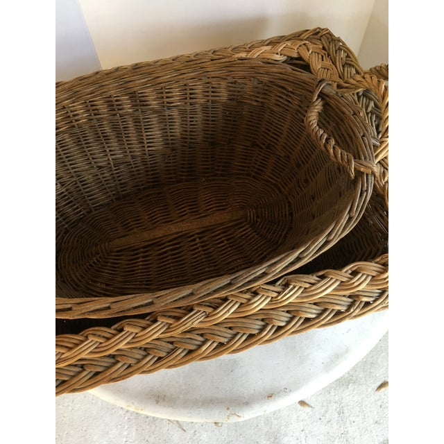 Oval French Patina Basket - Image 6 of 7
