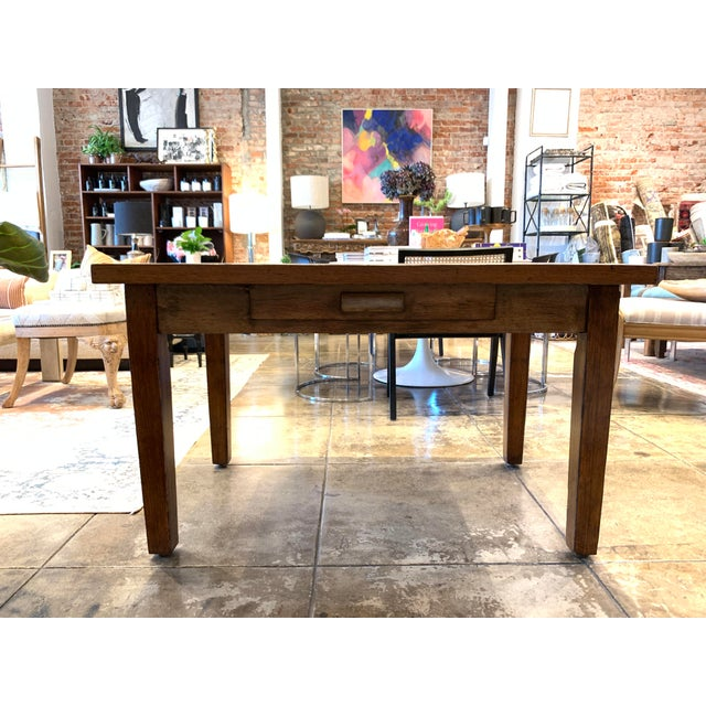 Antique Primitive Dining Table For Sale - Image 10 of 10