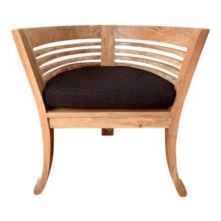 Mid-Century Modern Corner Chair For Sale