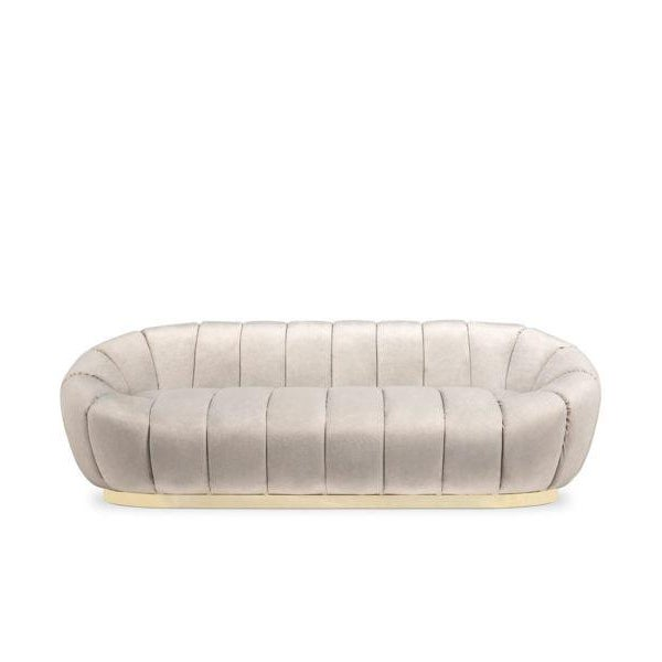 Modern Florence Sofa From Covet Paris For Sale - Image 3 of 3