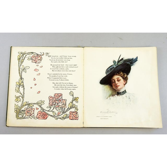"""A Book of Sweethearts"" 1908 Book For Sale - Image 10 of 11"