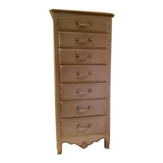 "1990s Ethan Allen Country French ""Brittany Provence"" 7-Drawer Lingerie Chest For Sale"