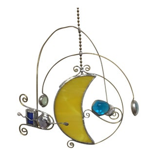 Stained Glass Celestial Mobile For Sale