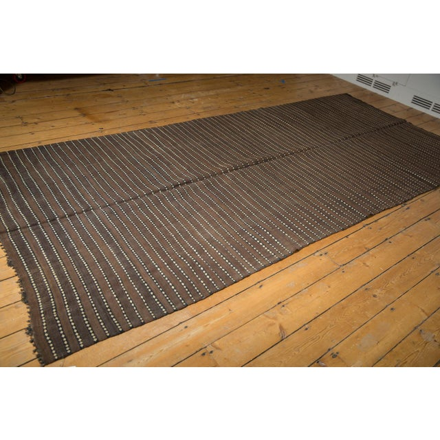 """Old New House Vintage Moroccan Kilim Rug Runner - 5' X 11'7"""" For Sale - Image 4 of 13"""