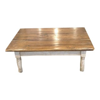 Farmhouse Collection by Hailey Idaho Solid Wood Coffee Table For Sale