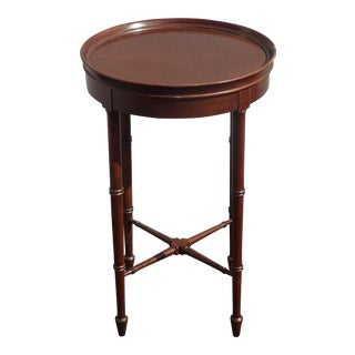 Vintage French Provincial Key Side Table by Hekman Furniture Co. For Sale
