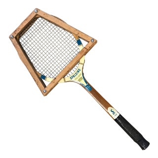 1960's Vintage Spalding Tennis Racket For Sale