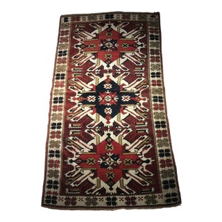 Antique Kazak Eagle Rug For Sale