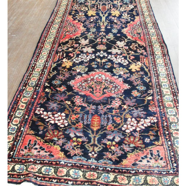 Traditional Antique Persian Bakhtiari Runner For Sale - Image 3 of 12