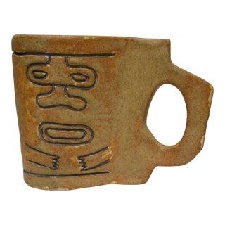 Ceramic Tiki Mug Cup
