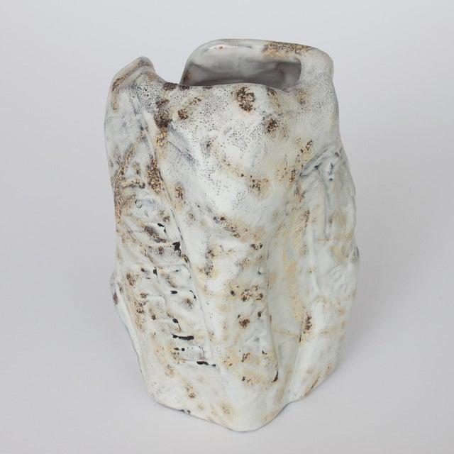 Marcello Fantoni Brutalist Ceramic Vase - Image 2 of 10