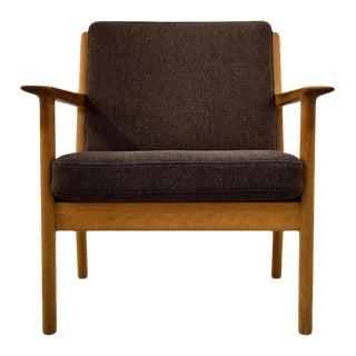Rare Hans Wegner 1960s GE-265 Lounge Chair