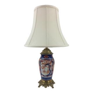 19th Century Imari Vase Mounted as Lamp For Sale