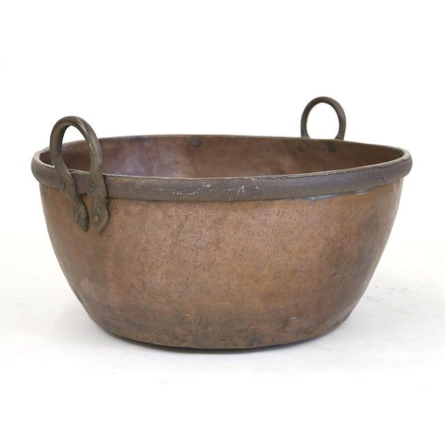 Large Brazilian Copper Pot - Image 2 of 8