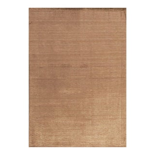 Contemporary Hand Woven Rug - 5' X 7' For Sale