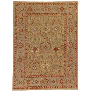 "Persian Rustic Wool Rug - 5'1"" X 6'9"" For Sale"