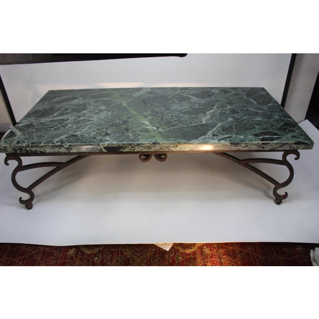 Italian Marble Table For Sale - Image 10 of 10