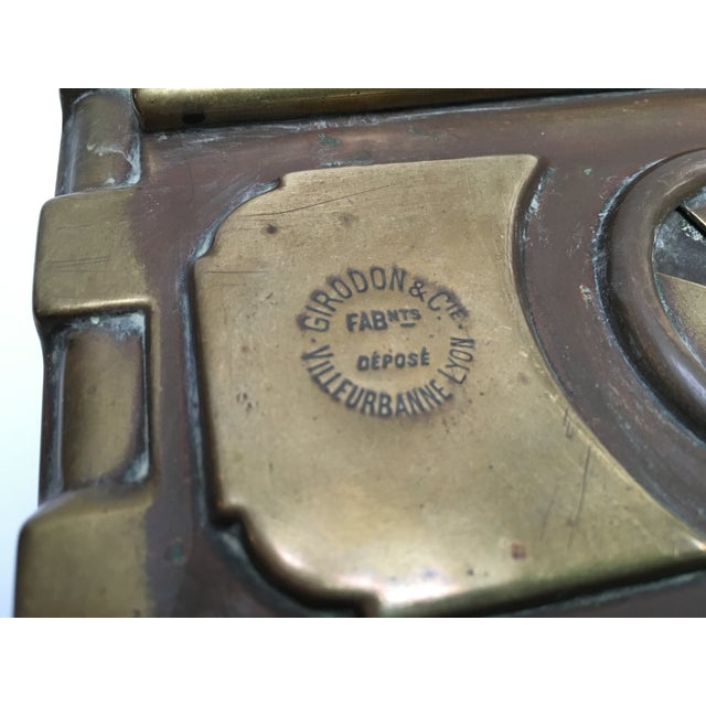 Late 1800s French Carriage Brass Foot Warmer - Image 5 of 8