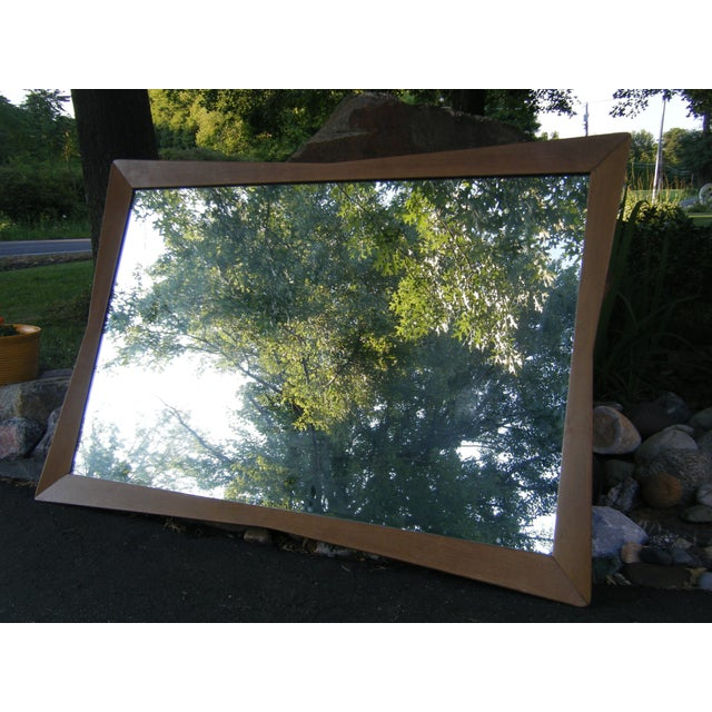 """Mid-Century Modern Kent Coffey mirror measures 51"""" w x 35"""" h x 1.5"""" d. This attractive Mid-century piece is perfect for a..."""