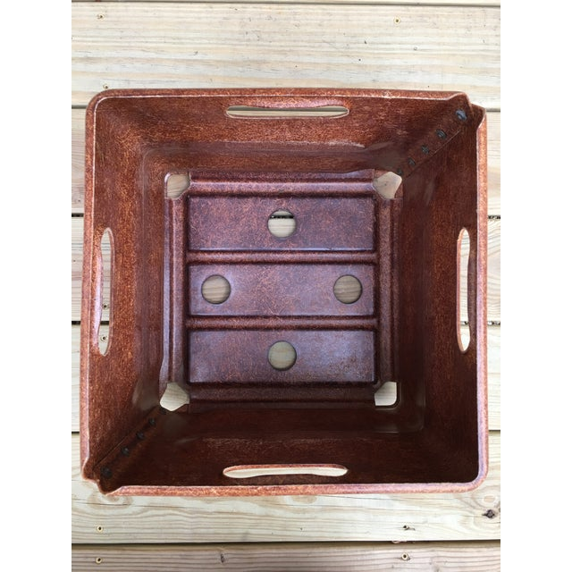 Industrial Industrial Modern Fiberglass Factory Tote For Sale - Image 3 of 7