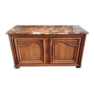 Traditional Marble Top Buffet