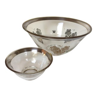 Vintage Georges Briard Chip and Dip Bowl Set For Sale