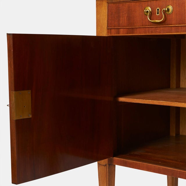 1940s A Frits Henningsen Sideboard in the Sheraton style For Sale - Image 5 of 7